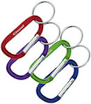 8mm Carabiners With Split Ring